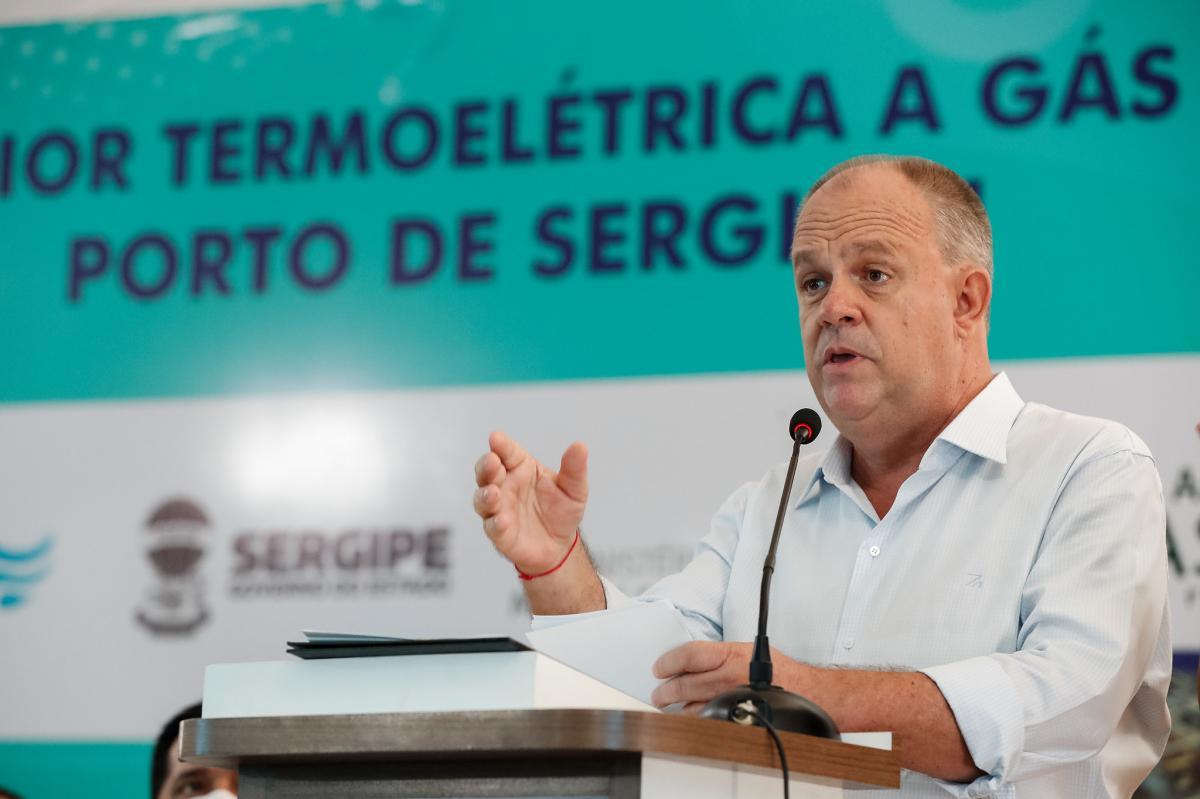 O governador Belivaldo Chagas. Foto: Allan Santos/PR
