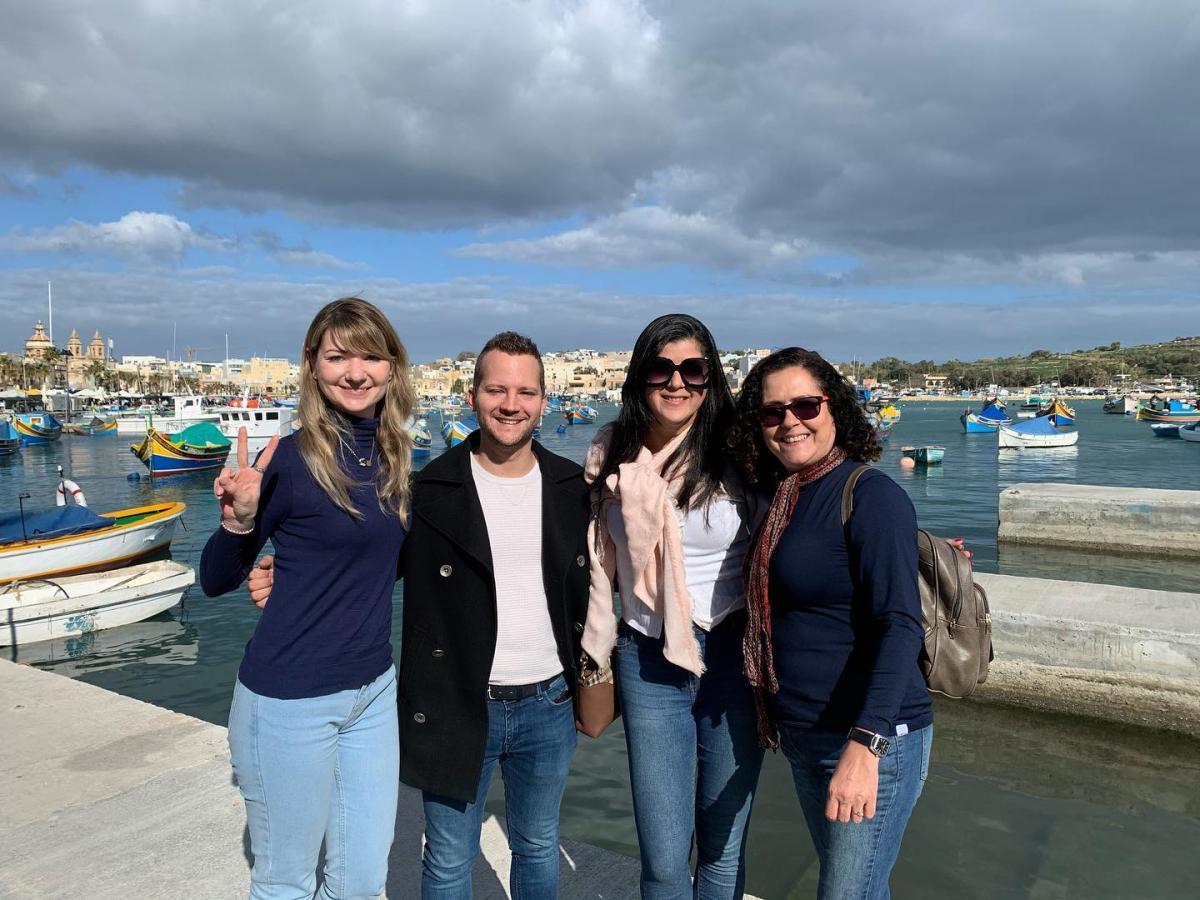 Aos domingo Marsaxlokk é o destino predileto de malteses e turistas