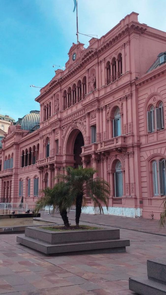 A Casa Rosada é um dos principais pontos turísticos de Buenos Aires