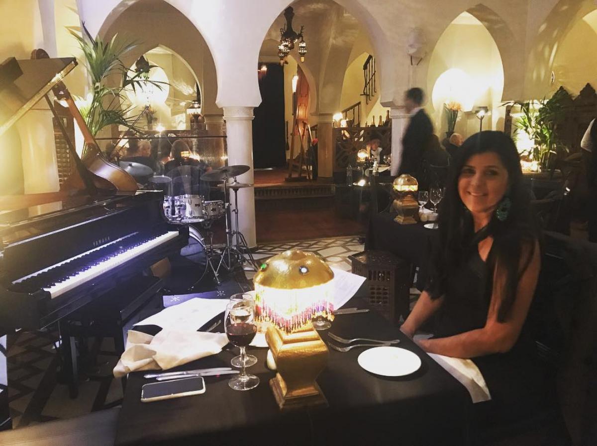 Noite maravilhosa no Rick's Café, do filme Casablanca