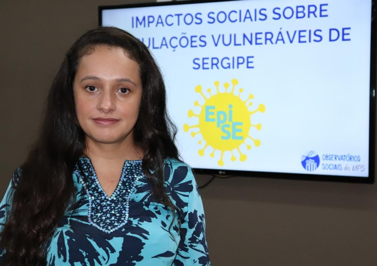 Zenith Delabrida destaca a importância da testagem do novo coronavírus. Fotos Josafá Neto-Rádio UFS