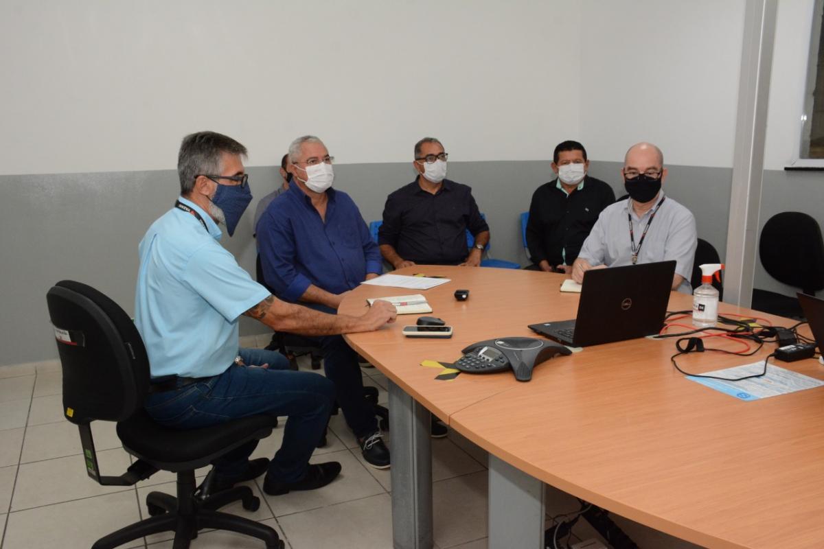 Reunião foi feita por teleconferência. Foto: Prefeitura de Socorro