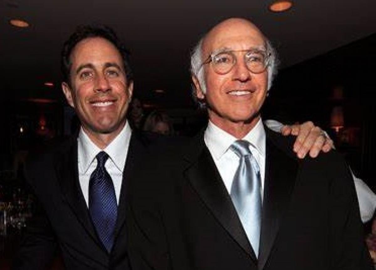 Seinfeld e David: parceria no humor ácido Foto: Divulgação