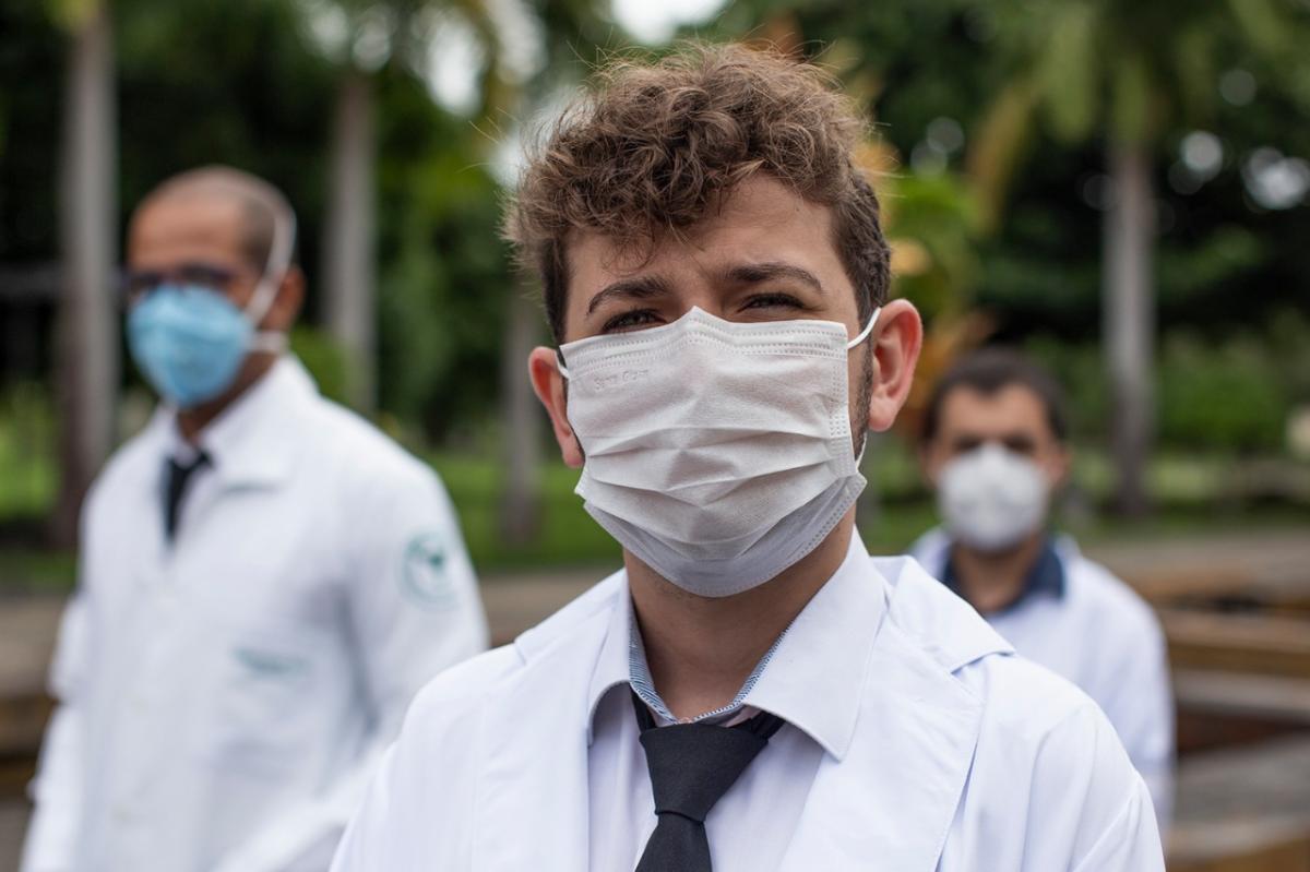 José Victor Teles é um dos médicos mais jovens do Brasil. Foto: Adilson Andrade/UFS