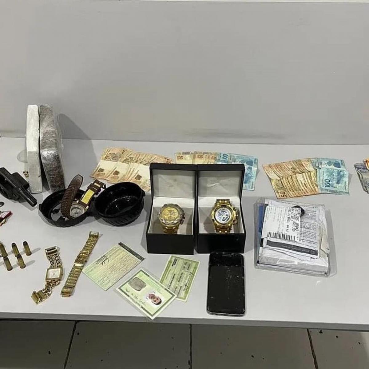 Material apreendido - Foto: Polícia Civil