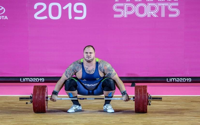 Brasileiro conquista o tri pan-americano no levantamento de peso