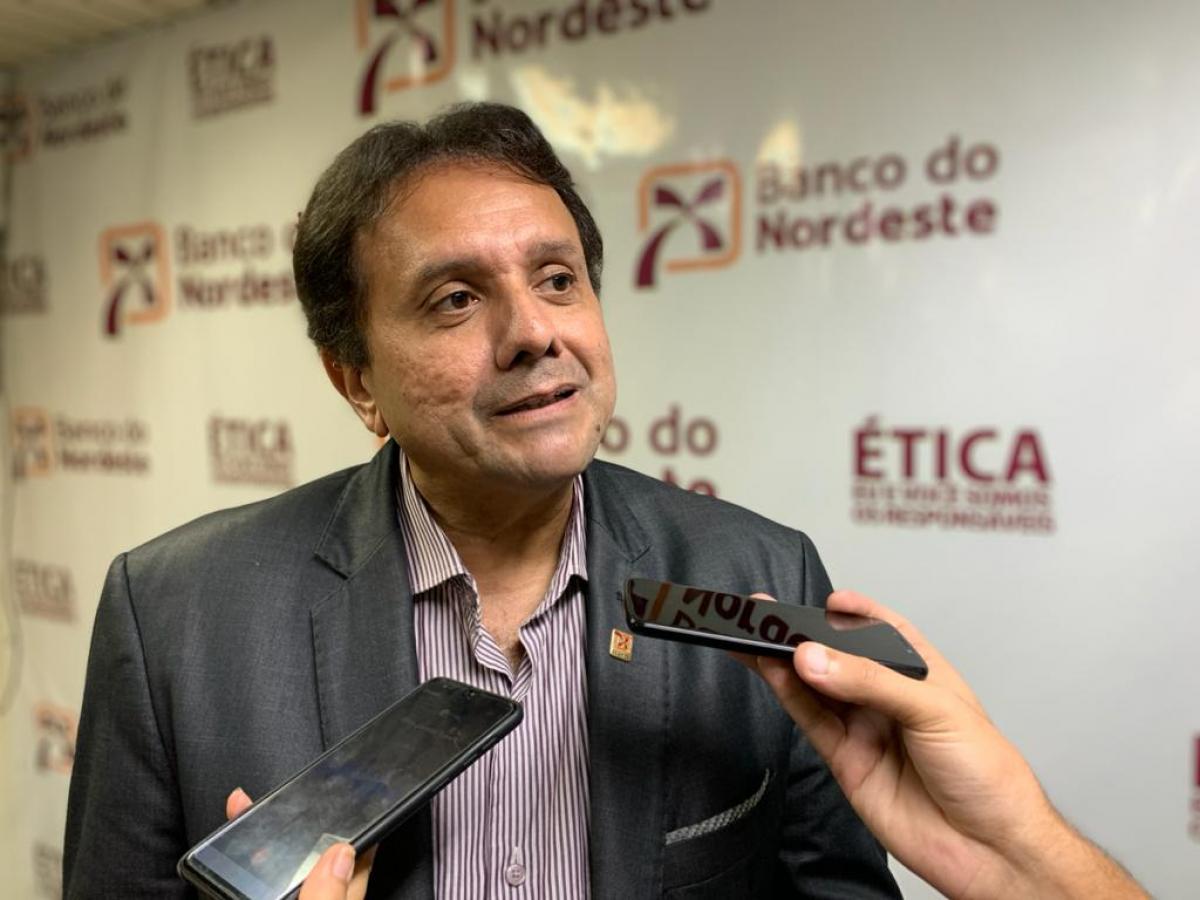 Superintendente do BNB em Sergipe comemora resultado de 2019. Foto: Will Rodriguez/F5 News