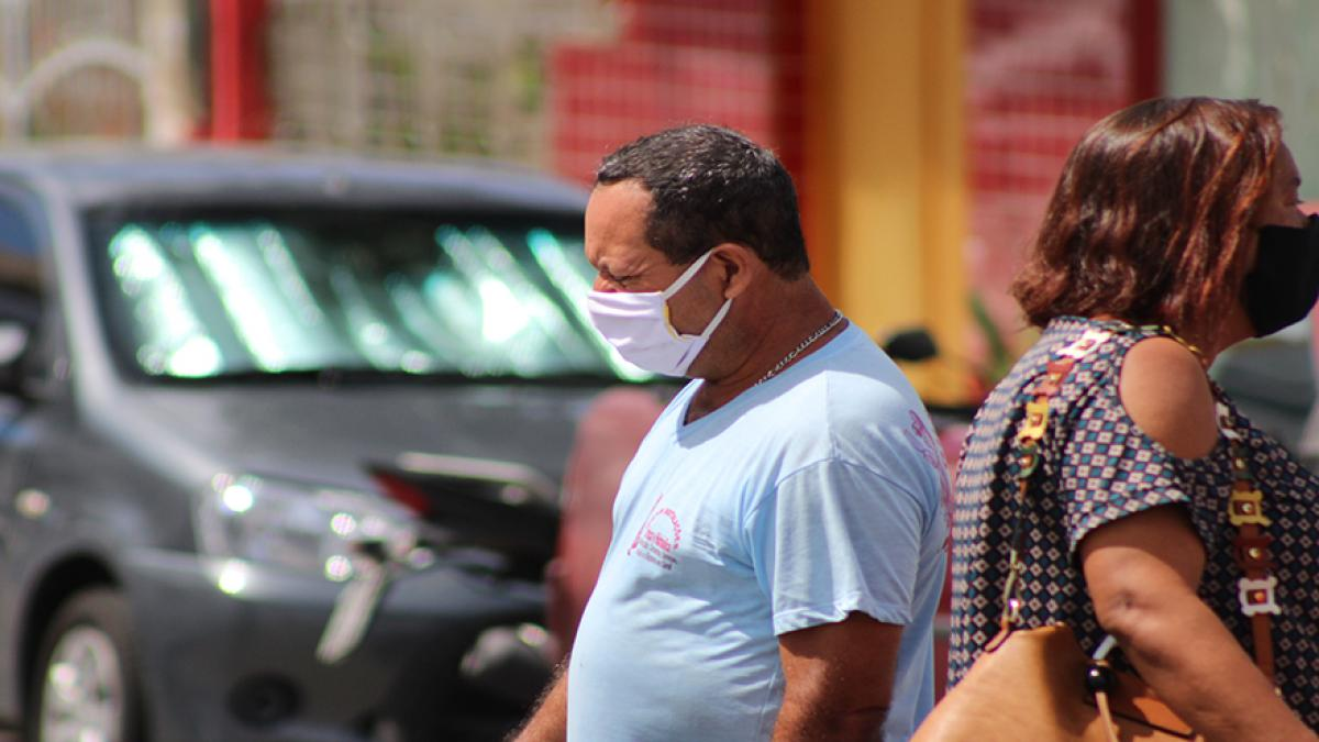 O uso da máscara é obrigatório em espaços de uso público e privado. Foto: Humberto Alves/F5 News