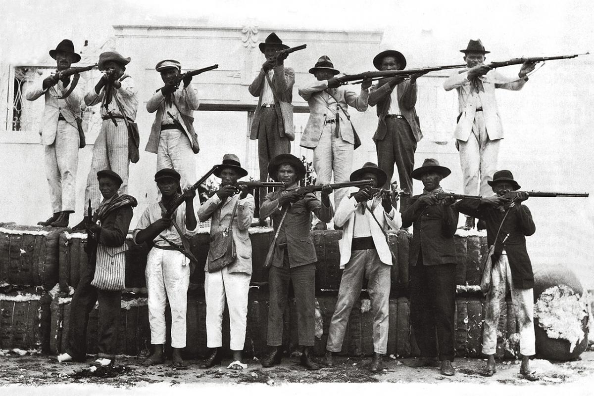 Resistência dos mossoroenses ao bando de Lampião (J. Octávio_1927/Reprodução)