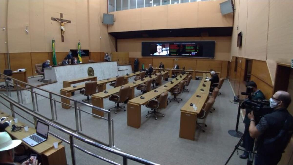 Plenário da Assembleia Legislativa de Sergipe. Foto: Júnior Ventura/Alese