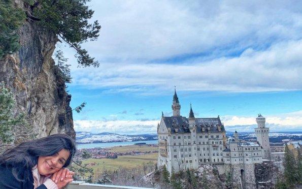 O castelo da Cinderela fica no final da Rota Romântica nos Alpes alemães
