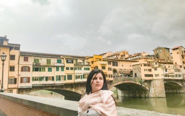 Ponte Vechio, uma das vistas mais famosas de Florença