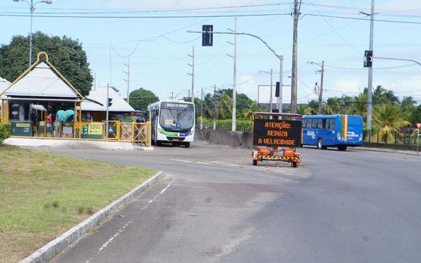 Vias em obras continuam com alteração no trânsito nesta quarta-feira