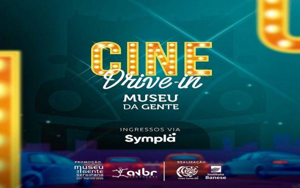 Cine drive-in no Museu da Gente Sergipana é sucesso de público