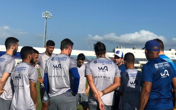 Confiança volta aos treinamentos visando o jogo contra a Ponte Preta