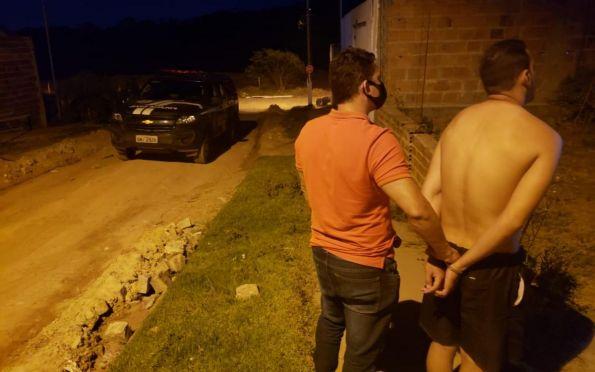 Polícia Civil prende em flagrante suspeito de estupro em Estância
