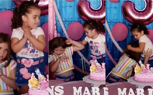 Briga de irmãs em festa infantil bomba nas redes sociais; veja