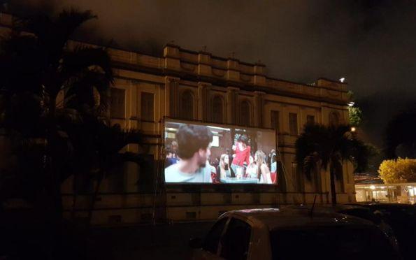Cine Drive in Museu da Gente segue nos dias 22, 24 e 25 de outubro