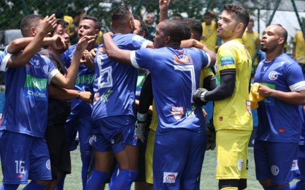 Confiança se prepara para a fase final da Liga Fut7, em São Paulo