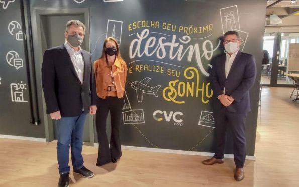 Governo discute implantação de ações promocionais com a CVC Corp