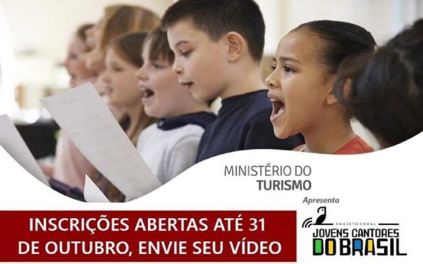 Projeto Coral Cantores do Brasil recebe inscrições até 31 de outubro