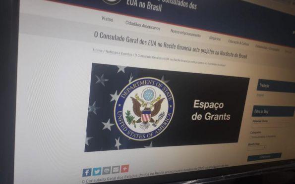 Projeto em Sergipe será financiado por Consulado Geral dos EUAno Recife
