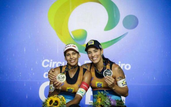 Ágatha e Duda chegam ao segundo título da temporada no Circuito Brasileiro