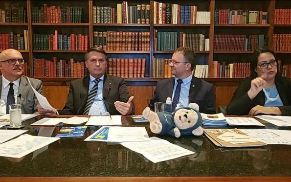 Covid-19: plano de imunização está praticamente pronto, diz Bolsonaro