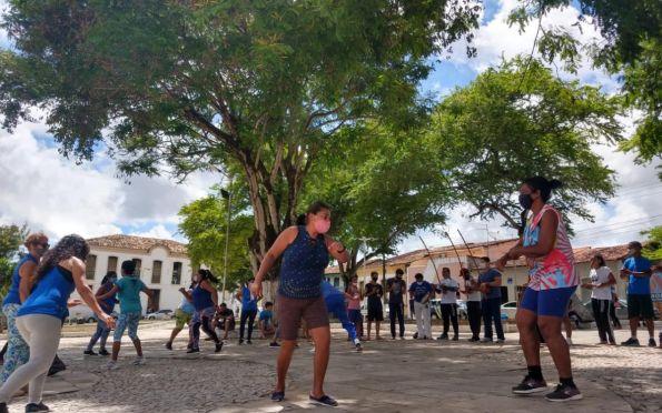Vivência afro é realizada no Centro Histórico de São Cristóvão