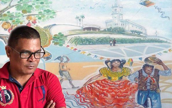 Edidelson Silva apresenta exposição 'Humanos e Urbanos Aracajuanos'