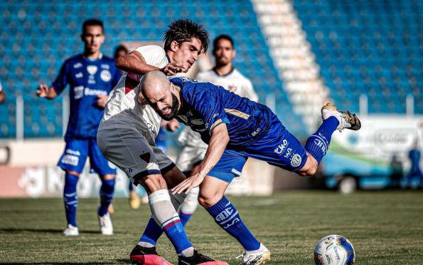 Confiança tropeça diante do Fortaleza e deixa a Copa do Nordeste