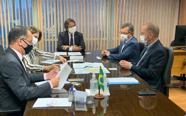 Laércio e governo de SE fazem reuniões em Brasília para atrair investimentos