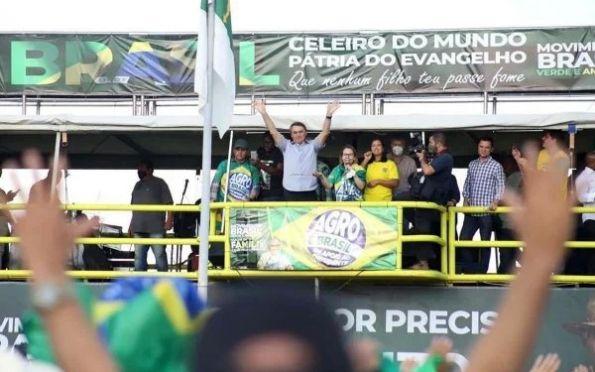 'Deixarei o Brasil melhor do que o recebi', diz Bolsonaro em discurso a apoiadores