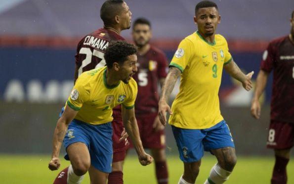 Brasil estreia na Copa América 2021 com vitória sobre a Venezuela