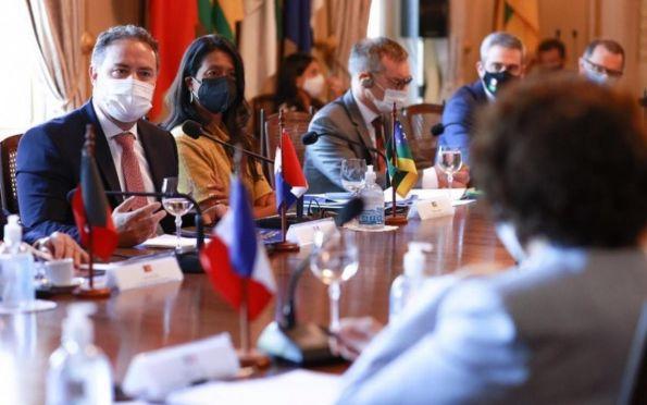 Eliane participa de evento do Consórcio Nordeste com Embaixada da França