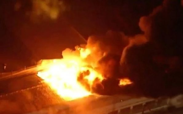 Incêndio atinge galpão da Cinemateca, na cidade de São Paulo