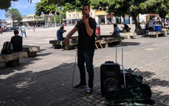 Violinista sergipano Horácio Chagas viaja o Nordeste para apresentar sua arte