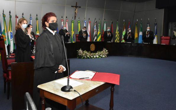 Juíza Maria Angélica França toma posse como Desembargadora do TJSE