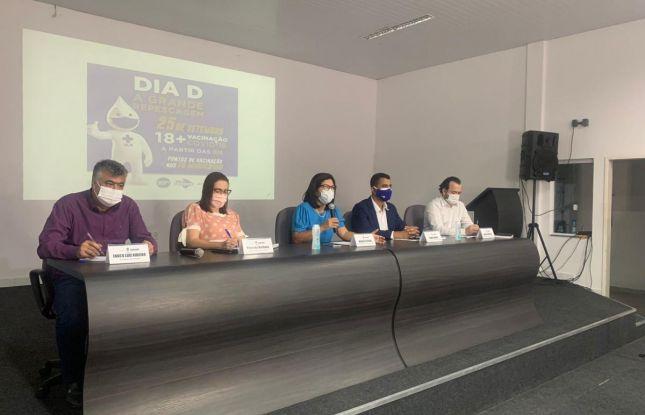 Sergipe anuncia Dia D para ampliar vacinação contra covid-19