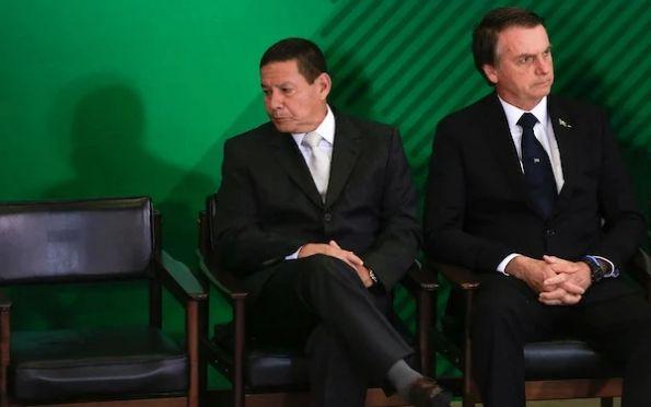 """Mourão sobre Bolsonaro: """"Muita coisa pode ser dita de forma mais polida"""""""