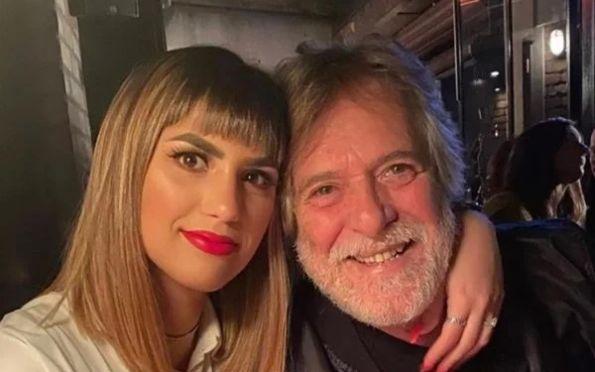 """Namorada de José de Abreu tatua o nome do ator: """"Te amo"""""""