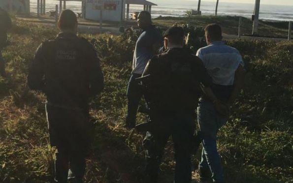 Polícia prende dois suspeitos de tentativa de homicídio contra delegado