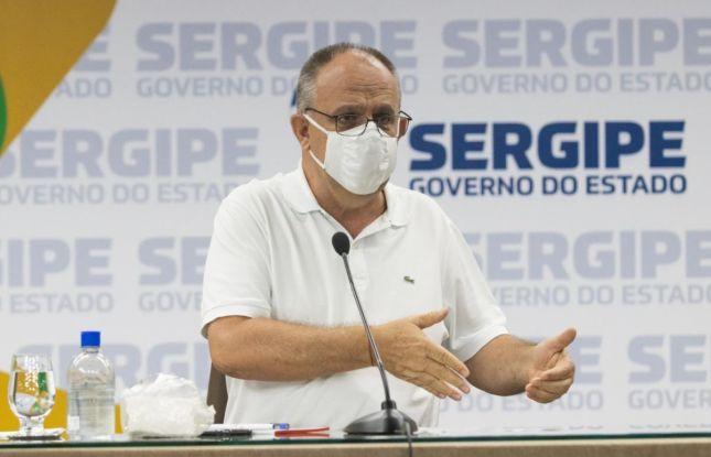 Belivaldo anuncia a convocação de 500 policiais militares até janeiro de 2022