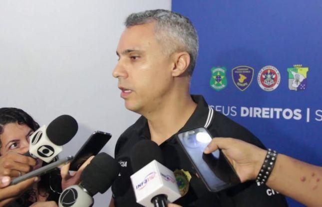Colegas de farda lamentam a morte do delegado Marcelo Hercos