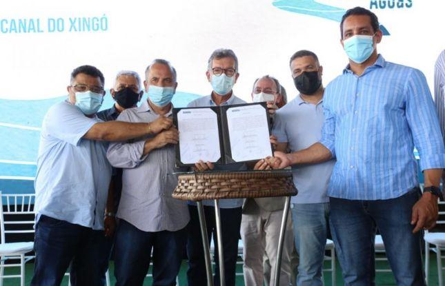 Em Sergipe, Governo Federal apresenta obras do Canal do Xingó
