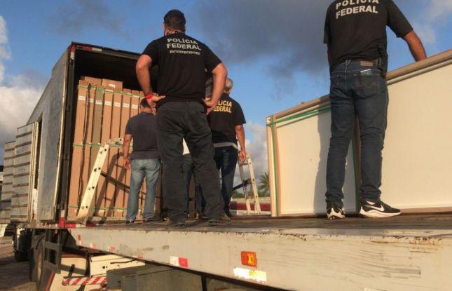 Polícia Federal apreende quase duas toneladas de maconha em Sergipe