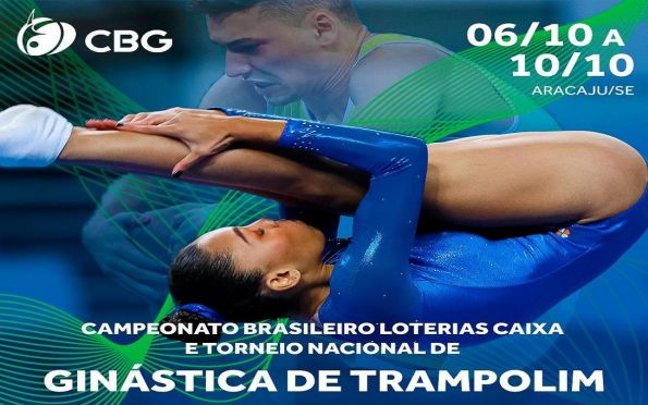 Aracaju recebe o Campeonato Brasileiro de Ginástica de Trampolim