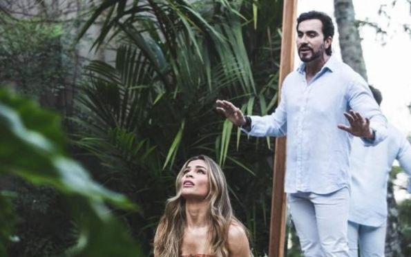 Grazi Massafera estrela clipe de padre Fábio de Melo e Ivete Sangalo