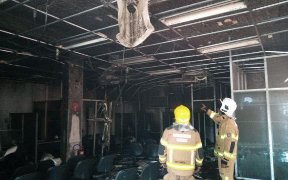 Incêndio atinge agência bancária na Zona Sul de Aracaju