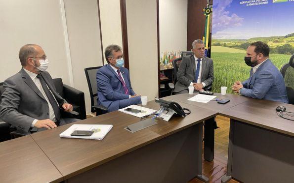 Laércio: estímulo à produção de fertilizantes nacionais pode garantir segurança alimentar